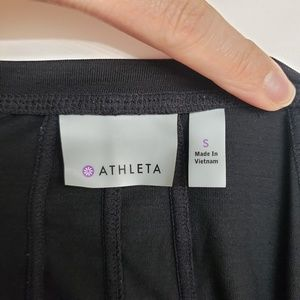 Athleta Tops - Athleta Black Lightweight Half Zip Pullover